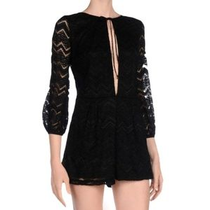MOTEL lace romper
